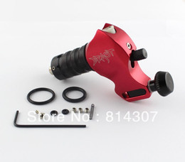 Wholesale Red Aircraft Alu Rotary Tattoo Machine Gun Stigma BEAST Swiss Motor NEW