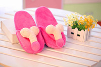 other other Plush Mimi VS penis couple slippers, indoor floor shoes for men and women fun, funny sex doll toys