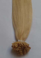 Cheap black Flat Keratin tip hair Best straight 1.0g pre-bonder hair