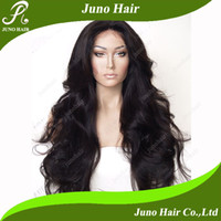 Wholesale Hot Selling Cheap Long Natural Wave B Synthetic Lace Front Wig B for African Americans HW220128 Juno Hair