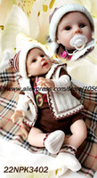 Cheap 20 inch Cute Ultra reborn baby chiristmas presents for children dolls Fashion Dolls 2013 New Design silicone vinyl doll