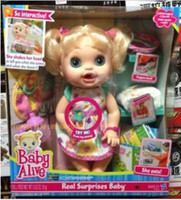 Cheap Free delivery Counter genuine Naughty baby A gift to the girl,Simulation Baby Dolls,Electronic Baby Doll, Reborn baby, Girl doll