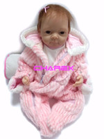 Cheap TOP QUALITY 50cm Girl's Reborn Baby Doll Reborn Babies' Toys Fashion Christmas Kids' Gift With Clothes Learning & Education