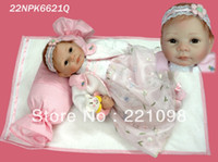 "Cheap New fashion high quality reborn baby 20"" high Ultra simulation dolls handmade silicone vinyl cartoon doll for girls"