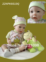 "Cheap 2013 Fashion high quality reborn dolls 50cm 20"" lifelike reborn baby doll handmade silicone vinyl baby love doll"