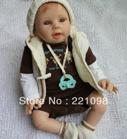 Cheap 2013 fashion Interactive Dolls for boys and girls Lifelike Reborn Baby Doll & High quality 20 inch cute gift