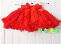 Wholesale TuTu skirt children s clothing trade candy colored small child tutu skirt girls veil Factory Direct