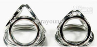Sex 4- ring Stainless Steel Penis Cock Ring Cage Cockrings Se...
