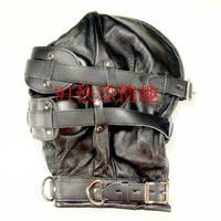 Wholesale - Sex Head Bondage Kit Leather Head Mask Eye Mask ...