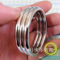 Hot Steel Cockring Cock Rings Penis Ring Cage toys for adult...