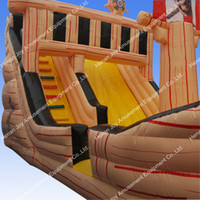 Cheap real inflatable pirate ships playset,amusement rides pirate ship for sale,pirate ship swing set