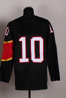 Ice Hockey Men Full Top Quality Customize Jerseys 2014 Olympic Team Canada #10 Patrick Sharp Black Jerseys Embroidery Logos Ice Hockey Jersey