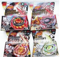 Wholesale New style Spinning TOPs Takata Tomy BB124 Beyblade Kreis Cygnus WD Starter JAPANESE Metal Fusion