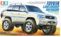Cheap Free shipping hot selling Tamiya 19021 1 32 JR Toyota Land Cruiser 100 Wagon VX Limited G Selection Mini 4WD Series plastic car
