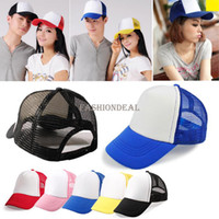 Wholesale 10pcs New Unisex Classic men women hip hop Trucker Golf Mesh Baseball Caps Hat Drop shipping