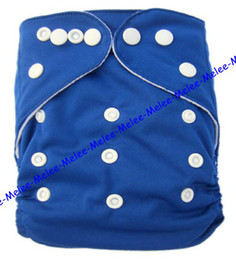 Wholesale New Baby Buckle AI2 couches couches AIO Tissu nappy TPU Couches Paillasson réglable bébé réutilisable lavable couches Nappies color choisir