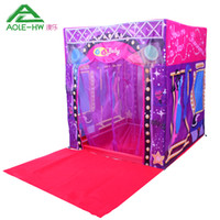 Tents Animes & Cartoons Polyester Fashion AOLE-HW Super Star Stage House Tent for Kids Toy House with Mat Outdoor Child Tent Game House Kiddies Toys Brinquedo