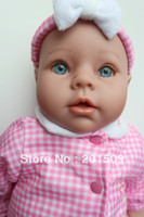 Girls Birth-12 months Vinyl 2013 New arrivel 45cm 18 inch reborn baby 3 4 Vinyl Silicone arms and legs baby dolls MM90