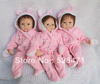 Cheap Reborn Baby Photography Photo Reborn silicone the soft toys Fashion toys handmade doll NPK6005-3