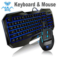 Wholesale Computer Peripherals LED Ergonomic Backlight Gaming Keyboard DPI Wired USB Gaming Mouse For PC Computer Desktop Gamer