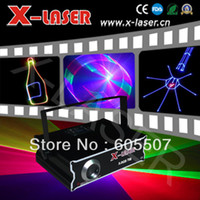 Wholesale ILDA SD D D Mutil Functional mW RGB laser show system dj equipment laser light stage light holiday laser light laser dj