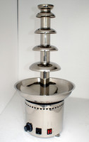 Wholesale CE Certified Commercial Chocolate Fountain tiers Stainless Steel Fountain