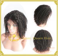 kinky curl lace wig - retail human brazilian afro kinky curl glueless lace front wig human lace wig