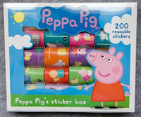 Wholesale Toys Gifts peppa pig Sticker box fun Best Birthday gift