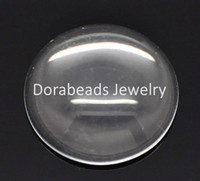 Wholesale Clear Round Glass Dome Seals mm B15078
