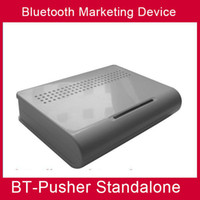 advertising device - BT Pusher STANDALONE bluetooth mobiles marketing device advertising your shop anytime anywhere