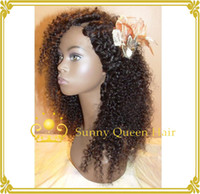 black women wigs - 2016 new fashion brazilian kinky curly hair wig b hair color u part wigs for black women