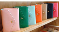 Wholesale CPAM pu leather crown smart pouch mobile phone bag case card holder fashion purse wallet