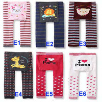 Leggings & Tights Unisex Spring / Autumn Big Discount 2016 New 36 designs Baby PP Pants Baby Warmer Leggings Tights Baby Trousers Toddler Pants 144pc lot Fedex DHL EMS Ship Melee