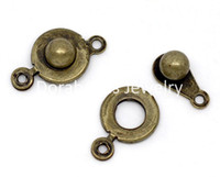 Connectors hitch - Bronze Tone Trailer Hitch Clasps x9 mm B09620