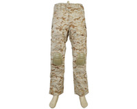 Wholesale Airsoft Tactical Pants with Detachable Knee Pads Military Integrated Battle Camouflage Pants AOR1