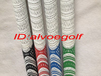 Wholesale New golf grips wearproof multi compound whiteout grips colors golf driver fairway woods irons golf clubs grip