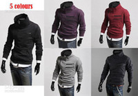 Cheap Fashion New Korean South Korea zipper Hoodie Rider Men's Jacket Men's Coat Sweat Shirt mens coats 5 colours men's clothes men's outwear 1