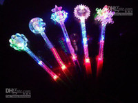 Wholesale New Fashion STYLE LED Toys Flashing Light Sticker Fairy Wand Party Concert Christmas Halloween Toys