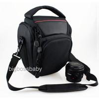Neck Straps Nylon Lens Cases Waterproof Camera Case Bag for Canon DSLR Rebel T2i T3i T4i T5i SL1 T3 EOS 1100D 1000D 100D 450D 500D 600D 550D 50D 60Da 60D 70D