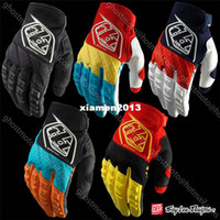 Wholesale 2014 Troy Lee Designs GP Gloves Motocross Enduro ATV MTB BMX DH offroad gloves Bicycle Mountain Dirt Downhill Bike Cycling glove