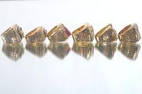 Un conjunto de Toros Campeonato de Baloncesto Anillo 6pcs Réplica de tamaño 10 con NOSOTROS el mejor regalo para los fans de la colección de Alta Calidad