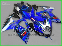 Wholesale 7 Gifts Seat Cowl fairings set for SUZUKI GSXR K6 GSXR600 GSXR750 R600 R750 blue Corona fairing kit bb31