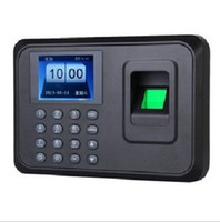 Wholesale Freeship Bargain Price quot Color TFT Biometric Fingerprint Time Clock Recorder Attendance Machine USB Drive Download USB Communication
