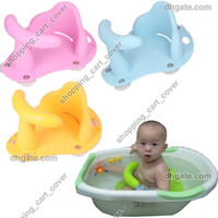 tub chairs - Best Selling Baby Infant Kid Child Toddler Bath Seat Ring Anti slip Safety Chair Mat Pad Tub Bathtub