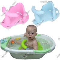 Bathing Tubs anti slip bath mats kids - New Arrive Baby Infant Kid Child Toddler Bath Seat Ring Anti slip Safety Chair Mat Pad Tub Bathtub