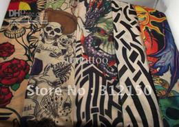Wholesale 50pcs pairs mixed Styles Fashion Novelty Tattoo Sleeves Body Tattoo Stocking Supply Jewelry