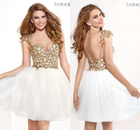 White And Gold Cocktail Dress – images free download