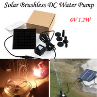 Wholesale 2015 HOT Selling V W L H Solar Pump For Water Cycle Pond Fountain Rockery Fountain