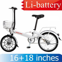 Wholesale Brand NOAHHK Ultra light KG LI battery lithium battery Electric Bicycle W inches front tire colors E BIKE