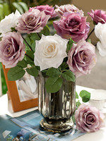 Wholesale Fabulous Sweet Silk Roses Artificial Flowers r19 u6 r4M